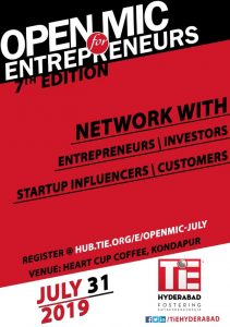 Open Mic for Entrepreneurs @ Heart Cup Coffee