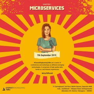 EverestEngineeringTalks-Chapter 1: Microservices @ 91 Springboard