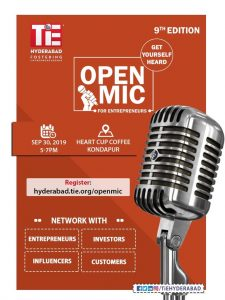 Open Mic for Entrepreneurs - 9th Edition @ Heart Cup Coffee